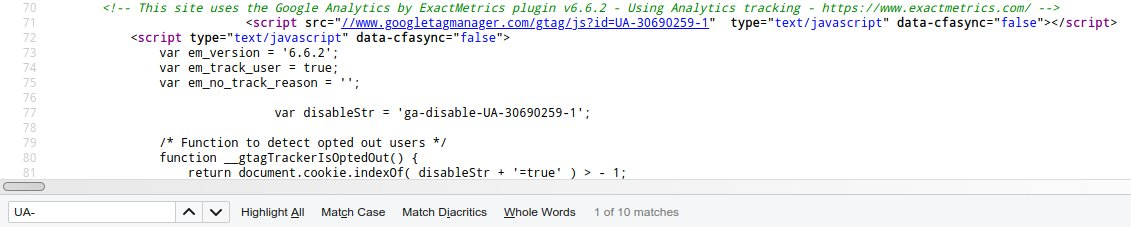 google analytics source code
